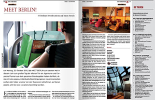 MEET BERLIN article in the branch magazine event&co