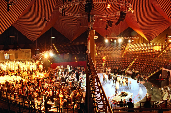 MEET BERLIN event venue Tempodrom