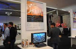 MEET BERLIN Messestand auf der best of events in Dortmund